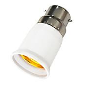 B22 a E27 LED Bombillas adaptador de enchufe