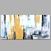 手描きの 抽象画 / ファンタジー 油彩画,Modern / 地中海風 1枚 キャンバス ハング塗装油絵 For ホームデコレーション