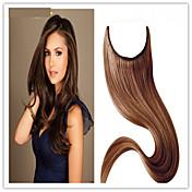 ventas calientes 8a grado de la extensión del pelo humano del tirón del pelo brasileño de la extensión del pelo 100% paquetes de pelo recta
