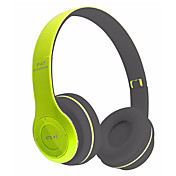 Producto neutro P47 Cascos(cinta)ForReproductor Media/Tablet Teléfono Móvil ComputadorWithCon Micrófono DJ Control de volumen Radio FM