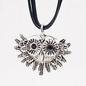 女性 ペンダント 合金 ラインストーン 模造ダイヤモンド アニマルデザイン ファッション ホワイト/シルバー ジュエリー 結婚式 パーティー 日常 カジュアル 1個