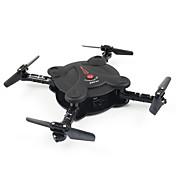 Dron FQ777 FQ777-17W 4 Canales 6 Ejes Con la cámara de 0,3 MP HD FPV Iluminación LED Modo De Control Directo Vuelo Invertido De 360
