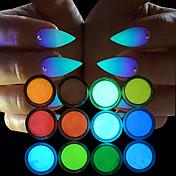 12 Decoración de uñas Las perlas de diamantes de imitación maquillaje cosmético Dise?o de manicura
