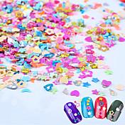 1box Decoración de uñas Las perlas de diamantes de imitación maquillaje cosmético Dise?o de manicura