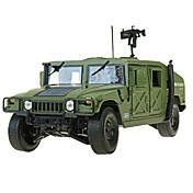 Vehículo militar Juguetes Juguetes de coches 1:18 Metal ABS Plástico Verde Modelismo y Construcción