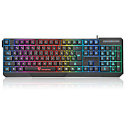 oficina teclado USB retroiluminación de color multi Motospeed