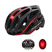 Sportovní Unisex Jezdit na kole Helma 36 Větrací otvory Cyklistika Cyklistika Velikost L: 59-63 cm; PC EPSBílá Zelená Červená Černá Modrá