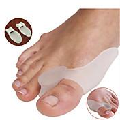 足 足セパレーター&外反母趾パッド 姿勢矯正器具 携帯式 シリコーン
