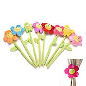 1pcs grampos cortina Clip Holder holdback cortina tieback flexível flor bonito fivela desenhos animados