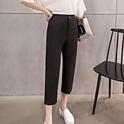サインQBDスプリング2017女性がパンツをハーレムビッグヤード緩い黒のスラックス女性のパンストニンジンパンツ版