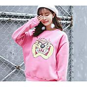 グレープフルーツsiou記号漫画のプリントカシミヤの犬のセーターの韓国語バージョン