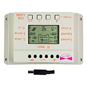 y-solar pantalla lcd 20a controlador de carga solar detector magnético 24v 12v m20