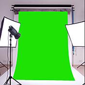 3x5ft緑の薄いビニール写真撮影の背景スタジオ小道具の写真の背景