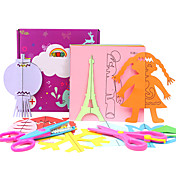 Alivia el Estrés Kit de Bricolaje Juguete Educativo Adhesivos Maqueta de Papel Decoración para Celebraciones Cuadrado Papel Arco iris