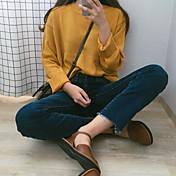 風のレトロな緩い長袖のプルオーバーのセーターの女性の公式マップオルチャンdongkuan韓国の研究所