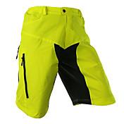 Arsuxeo Shorts de Ciclismo Hombres Bicicleta Pantalones cortos holgados Shorts/Malla corta Prendas de abajoTranspirable Secado rápido