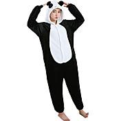 Kigurumi Pijamas Panda Collant/Pijama Macacão Festival/Celebração Pijamas Animais Dia das Bruxas Branco Animal Fantasias de Cosplay Para
