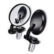 Motocicleta SENCART motocicletas XA/XB Negro parte posterior del espejo