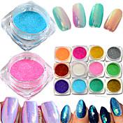 1bottle Unha Arte Decoração strass pérolas maquiagem Cosméticos Designs para Manicure