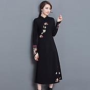 potpisati novi modeli spadaju izvorne kineske žene&# 39; s divljim tanak vez poboljšana cheongsam haljina Xie Jin
