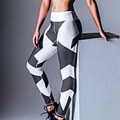 女性 プリント ポリエステル 中量 プリント レギンス 当スタイルは標準サイズです