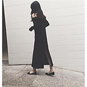 vestido de punto de lana tiro verdadero modelo #