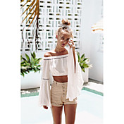 Aliexpress ebay2017 verano nuevo altavoz manga camisa spot