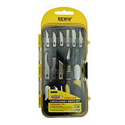 Rewin herramienta 14pcs conjunto de cuchillo de la manía