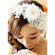 人造真珠 かぶと-結婚式 パーティー コーム コサージュ 1個