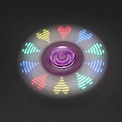 Fidget spinners Hilandero de mano Juguetes Tri-Spinner Spinner LED EDC Juguete del foco Alivia ADD, ADHD, Ansiedad, Autismo Alivio del