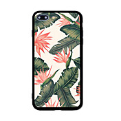 Para Carcasa Funda Diseños Cubierta Trasera Funda Flor Dura TPU para AppleiPhone 7 Plus iPhone 7 iPhone 6s Plus iPhone 6 Plus iPhone 6s