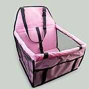 ネコ 犬 シートカバー 犬パック ペット用 キャリア 携帯用 両面 高通気性 折り畳み式 マッサージ ソフト テント 純色 グレー ピンク