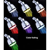 現代風 レインシャワー クロム 特徴 for  LED レインフォール 環境に優しい , シャワーヘッド
