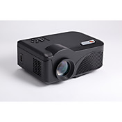 4018 LCD WVGA (800x480) Proyector,LED 1200 Mini Proyector