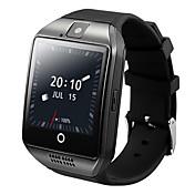 Q18lus mtk6572 dual núcleo 3g llamada nternet wifi gps posicionamiento teléfono androide smartwatch