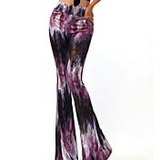 Mujer Un Color Legging