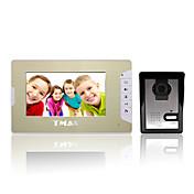 "500TVLナイトビジョンカメラでtmax®7 ""LCDビデオドア電話ドアベルホームエントリインターホン"