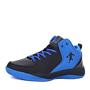Pánské Atletické boty Pohodlné PU Jaro Podzim Outdoor Basketbal Šněrování Plochá podrážka Černá/Červená Černobílá černá / modráMéně než