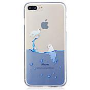 アップルiphone 7 7プラス6s 6プラス5s 5シールパターン塗装高い浸透tpu素材imdプロセスソフトケースの電話ケース