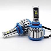 70w 7200lm 9005 hb3 philips llevó la mejora de los bulbos de la viga del coche del kit de la linterna de la lámpara 6000k