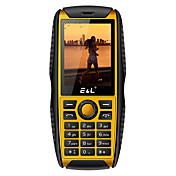 e&l200キーボード携帯電話キーパッド防水ショックプルーフ電話安い頑丈な電話