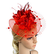 Přílba-Svatební Zvláštní příležitosti Večírek Ozdoby do vlasů Květiny Jeden díl