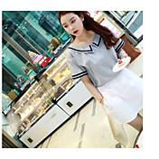 レディース 夏 Tシャツ(21) スカート スーツ シャツカラー 半袖