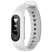 B15P スマートブレスレット iOS Android 耐水 消費カロリー 歩数計 スポーツ 心拍計 タッチスクリーン APPコントロール 血圧測定 情報 加速度計 心拍計 フィンガーセンサー