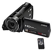 andoer®hdv-v7 1080pフルHDデジタルビデオカメラビデオカメラ24メガピクセル16電子ズーム3.0回転可能な液晶画面