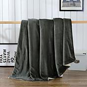 Súper Suave Sólido 100% Microfibra mantas