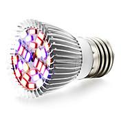 8W E27 LEDグローライト 28 SMD 5730 800 lm 温白色 レッド ブルー UV(ブラックライト) V 1個