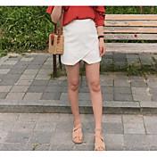Mujer Noche Sobre la Rodilla Faldas,Línea A Verano Un Color