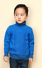 Chunyazi Warm High Neck Sweater (blau)