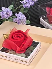 赤いバラデザイン☆タオル